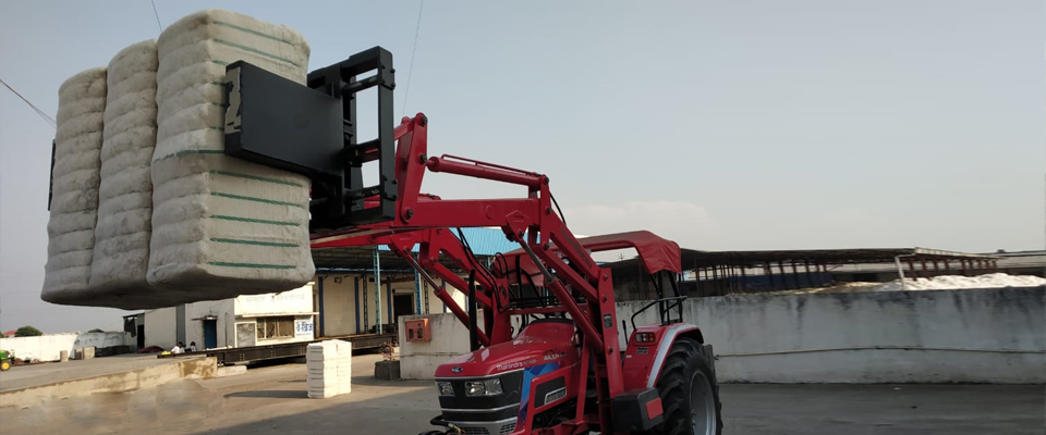 Bales grabber loader also known as bales grappler or bale bucket loader are widely used for handling bales in quantity reducing human efforts.