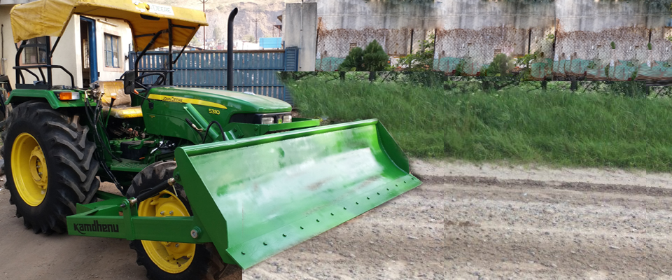 Front End leveller also known as land leveller are widely used for agriculture purpose.